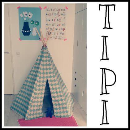 verjaardagscadeau: tipi tenten voor kinderen