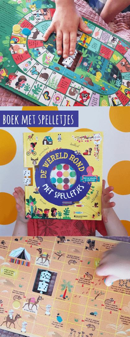 Spelletjesboek voor de vakantie: De Wereld Rond Met Spelletjes #leukmetkids #spelletjes #zomervakantie #kinderen