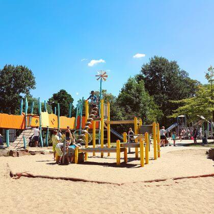 101 leuke uitjes met kinderen in Nederland en België – binnen en buiten. Fort Drakensteijn in Schiedam