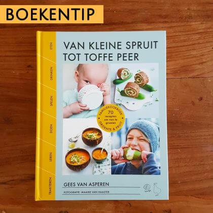 Boekentip: kookboek Van kleine spruit tot toffe peer