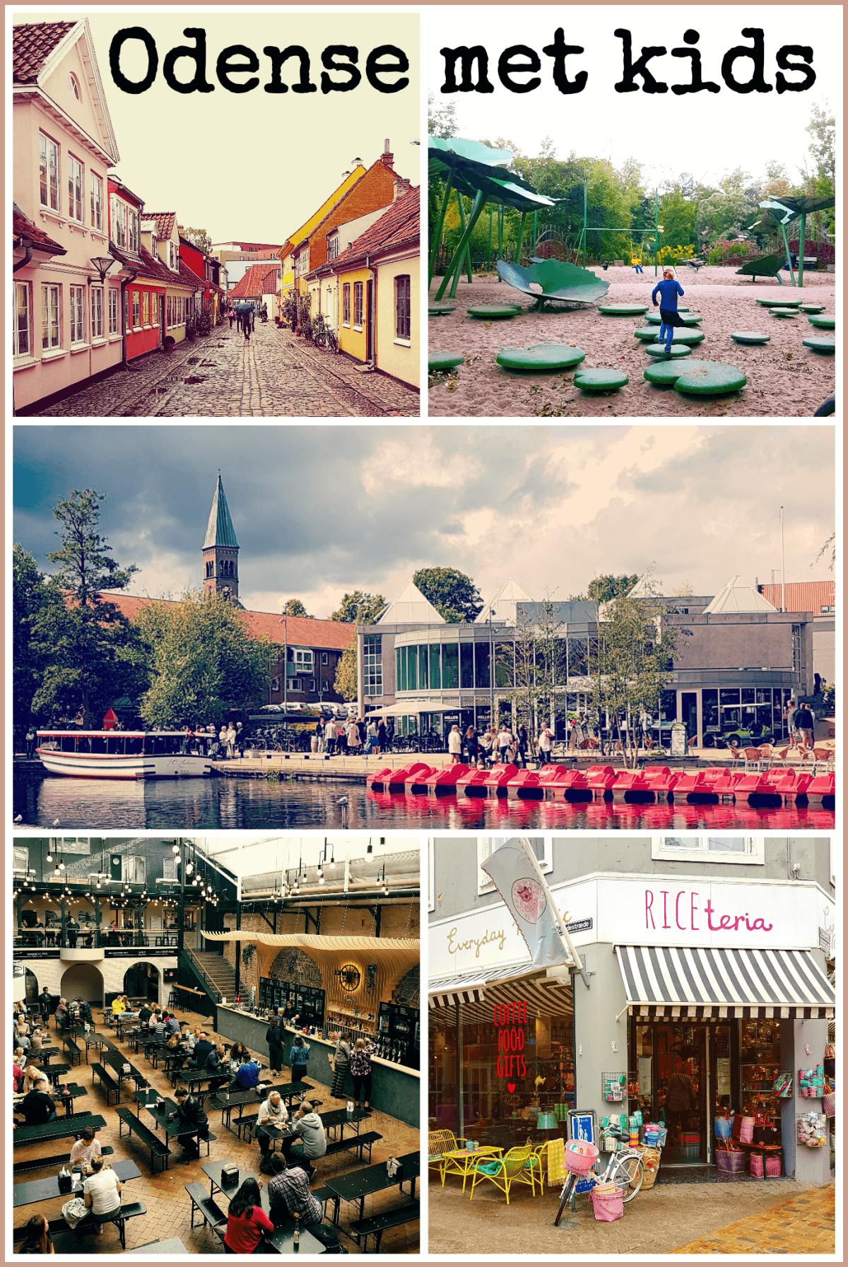 Vakantie met kids: sprookjesachtig Funen in Denemarken - moderne stad Odense met historie van Hans Andersen #leukmetkids #Funen #Denemarken #kinderen