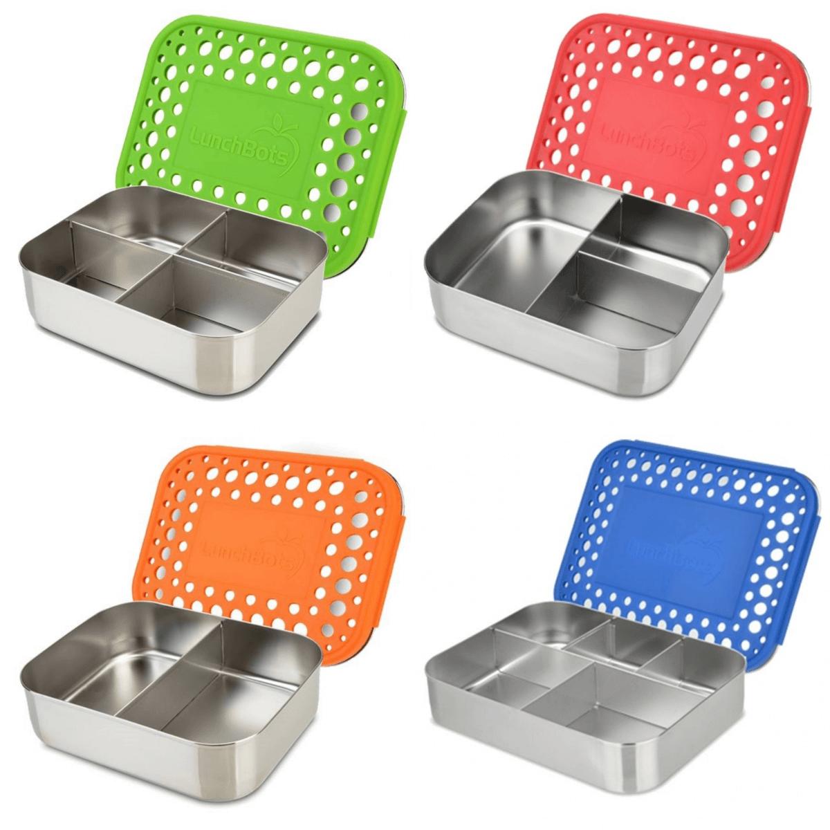 RVS eco lunchbox van LunchBots