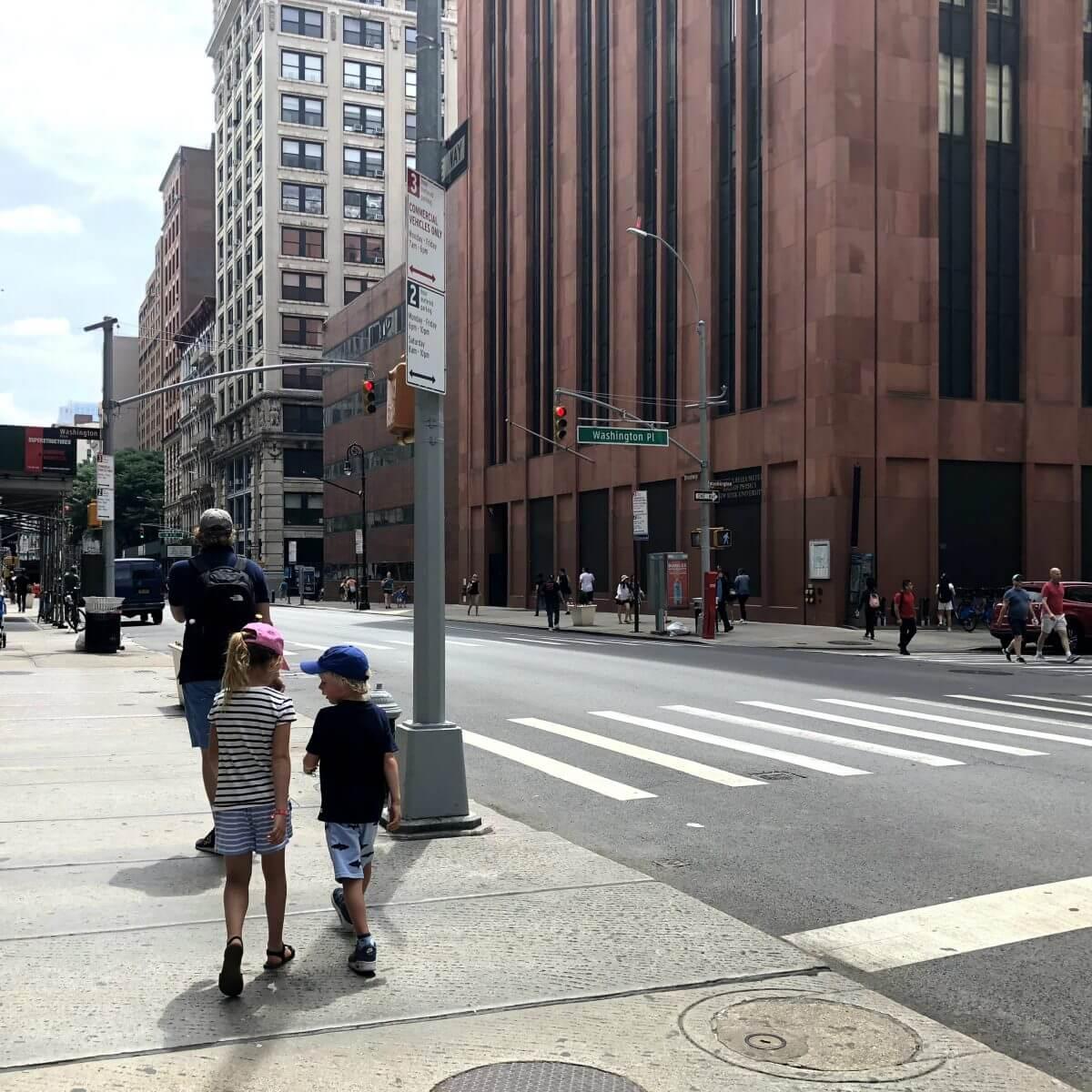 New York City met kids – een stad die tot de verbeelding spreekt! - kinderen in de Big Apple
