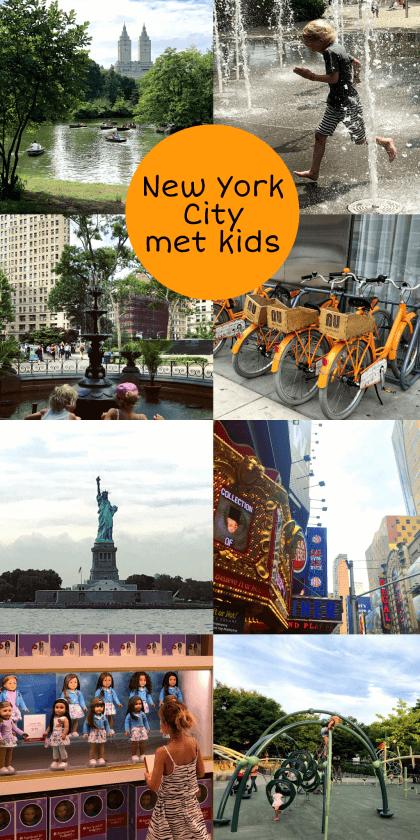 New York City met kids – een stad die tot de verbeelding spreekt! #leukmetkids #amerikametkids #reizenmetkids #vakantiemetkids #amerika kinderen in de Big Apple