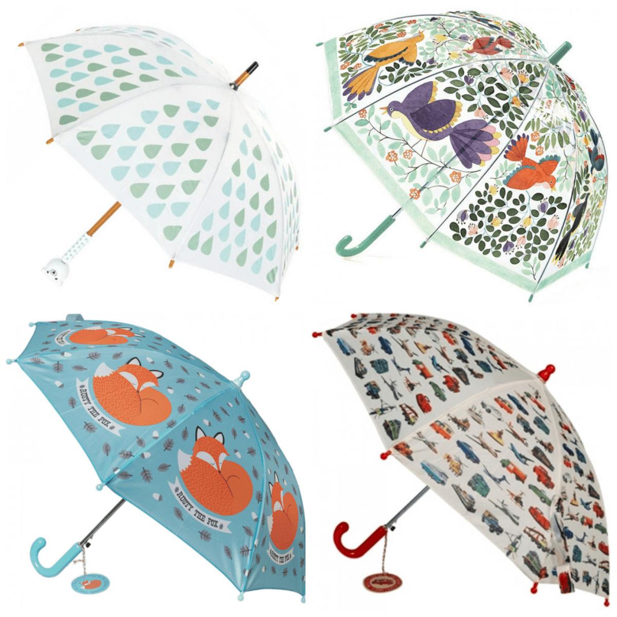 Voor jou uitgezocht: hippe regenjassen, regenbroeken, kinder paraplu en regenlaarzen #leukmetkids