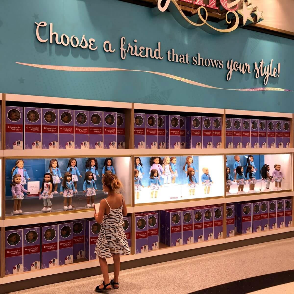New York City met kids – een stad die tot de verbeelding spreekt! - kinderen in de Big Apple - American Girl Store