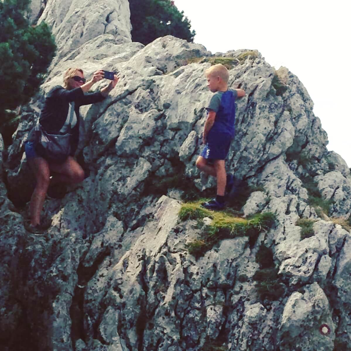 Vakantie in Slovenië met kids, Outdoor Paradijs! Klimmen met kinderen