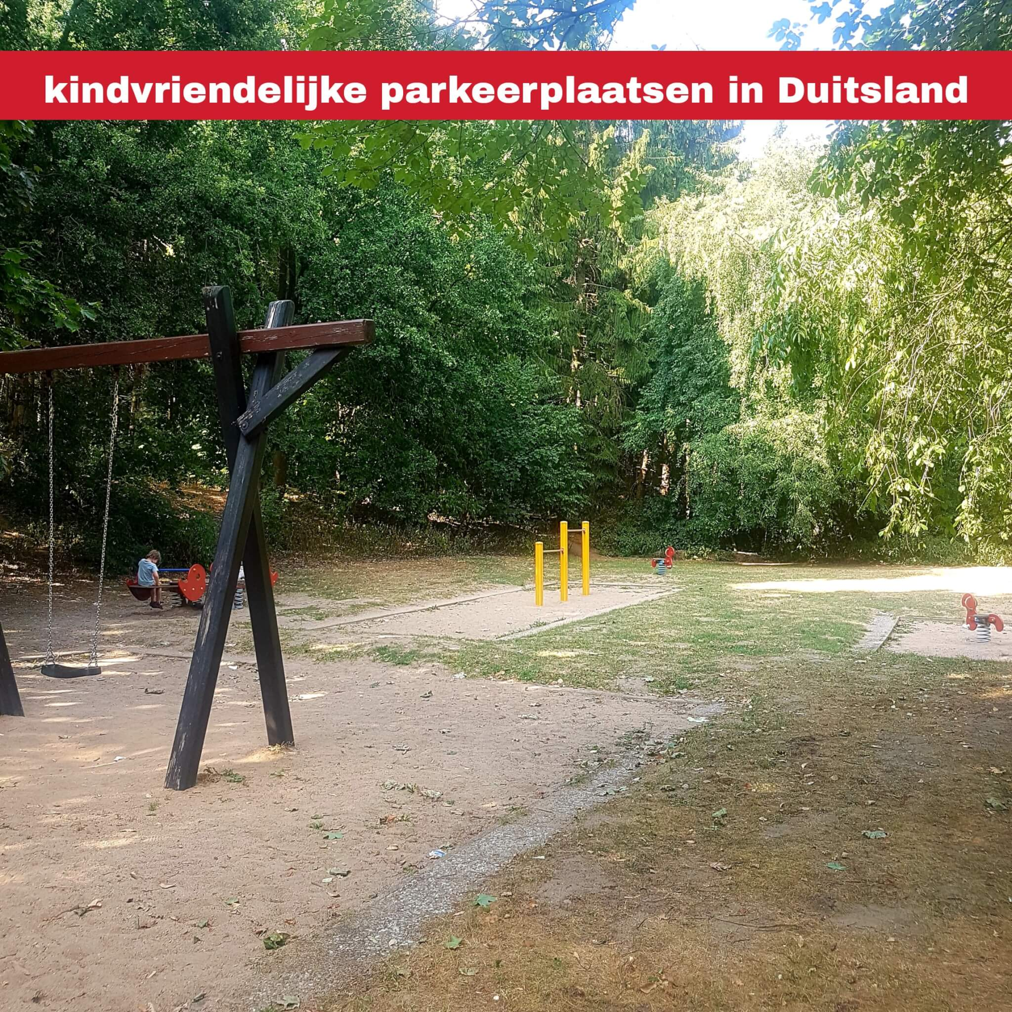 Kindvriendelijke parkeerplaatsen langs de snelweg in Duitsland, raststättes met speeltuin #leukmetkids