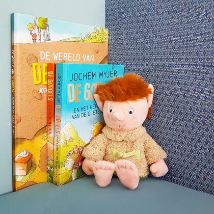 Cadeautip: De Gorgels boeken en knuffel van Bobba