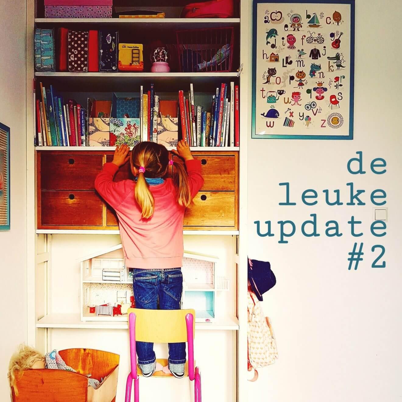 De Leuke Update #2 | Tips voor de herfst, kinderboekenweek, kids agenda en kinderkamer #leukmetkids