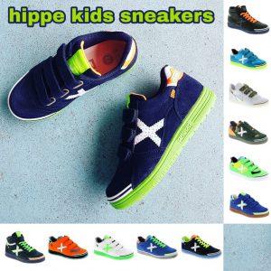 Hippe leren sneakers voor stoere kids #leukmetkids #jongens #meisjes #meiden #Munich #gympen #kinderkleding
