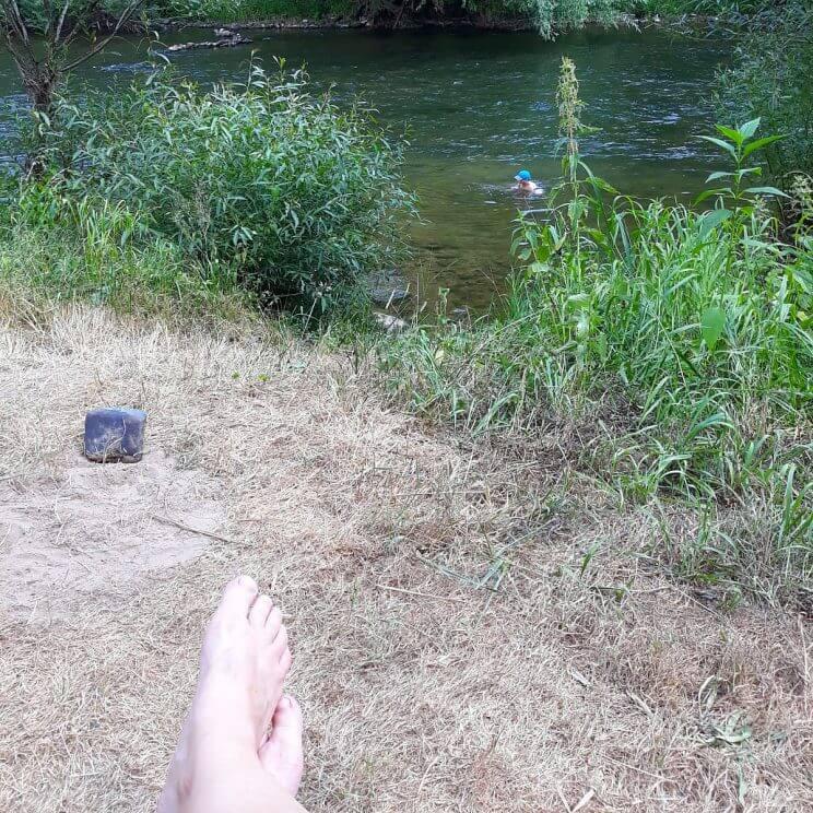 Kamperen met kids in de natuur van Luxemburg - fijne camping voor outdoor liefhebbers met kinderen #leukmetkids