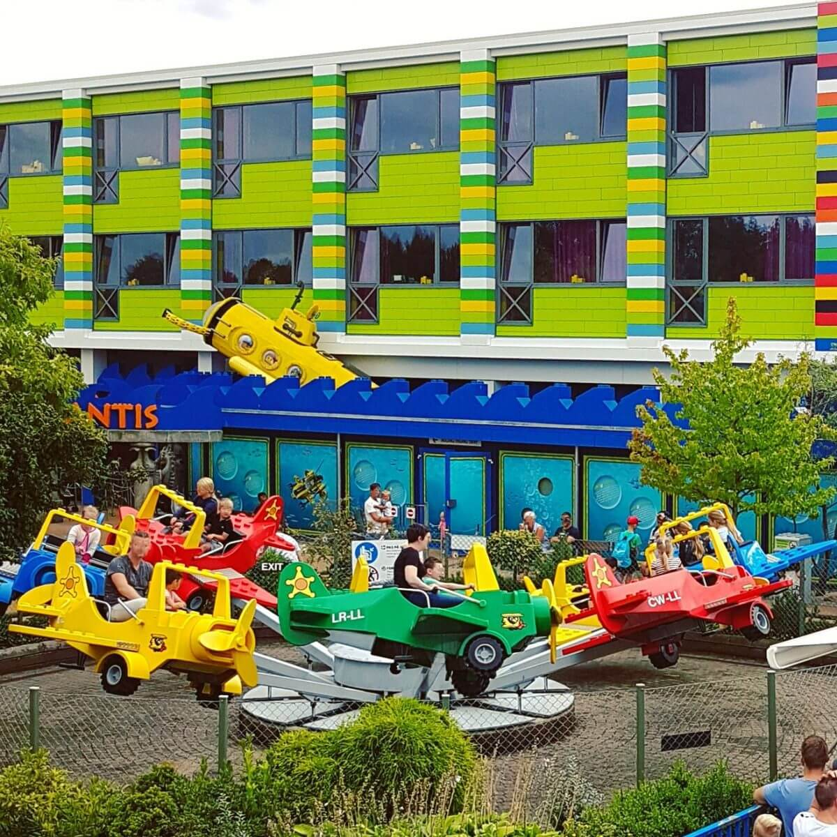 Legoland met kinderen: alles wat je wil weten, DUPLO Land DUPLO Planes vliegtuigjes #leukmetkids #legoland #Denemarken #kinderen