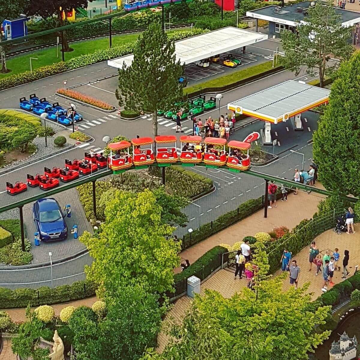 Legoland met kinderen: alles wat je wil weten, Miniland monorail #leukmetkids #legoland #Denemarken #kinderen