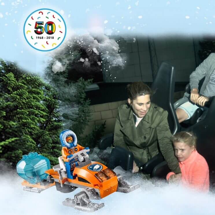 Legoland met kinderen: alles wat je wil weten, Polar Land Polar X-Plorer #leukmetkids #legoland #Denemarken #kinderen
