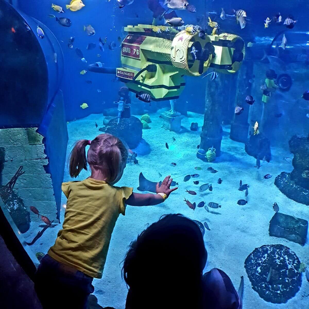 Legoland met kinderen: alles wat je wil weten, Imagination Zone Atlantis by SEA LIFE #leukmetkids #legoland #Denemarken #kinderen