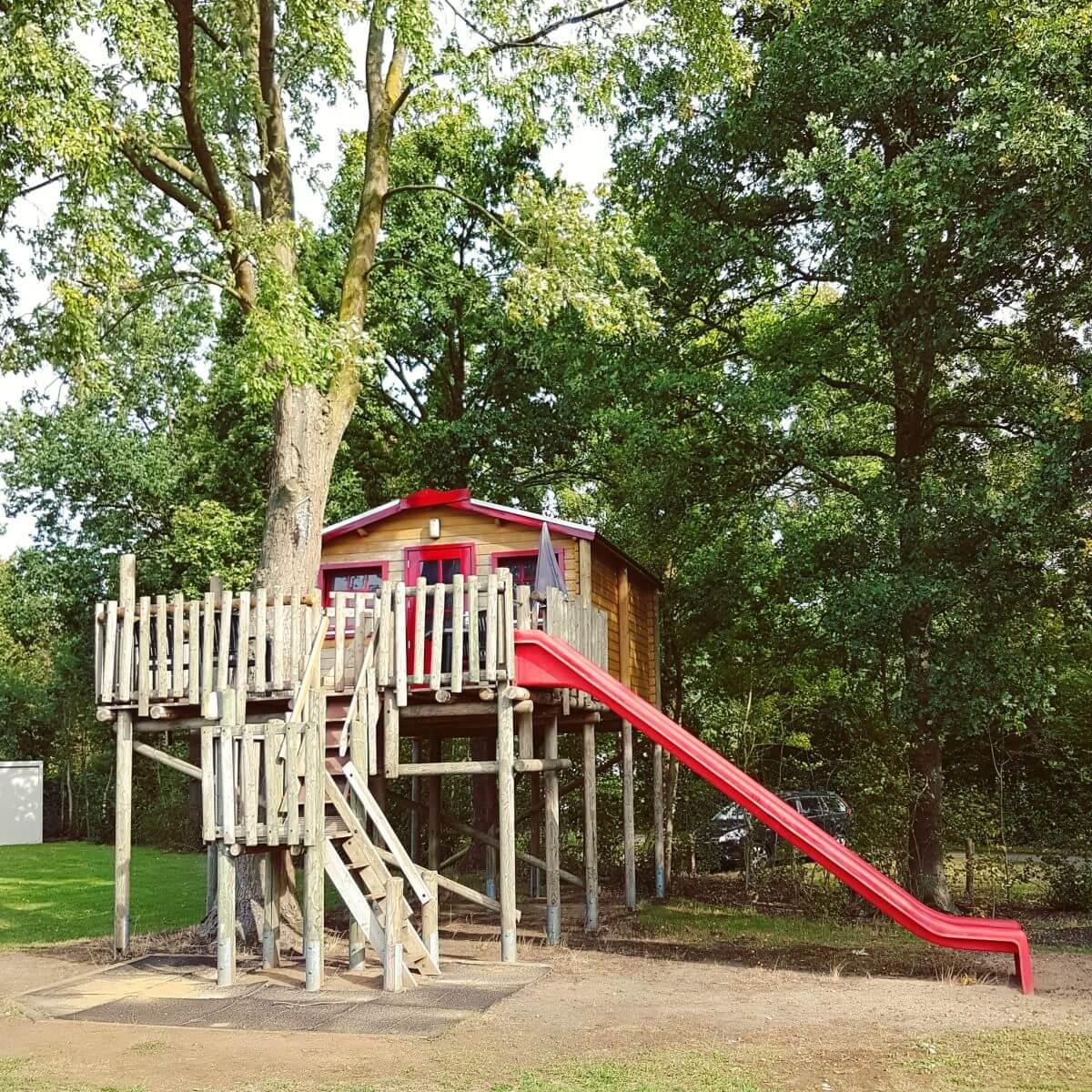 Boomhut Koekoek op Vakantiepark Dierenbos