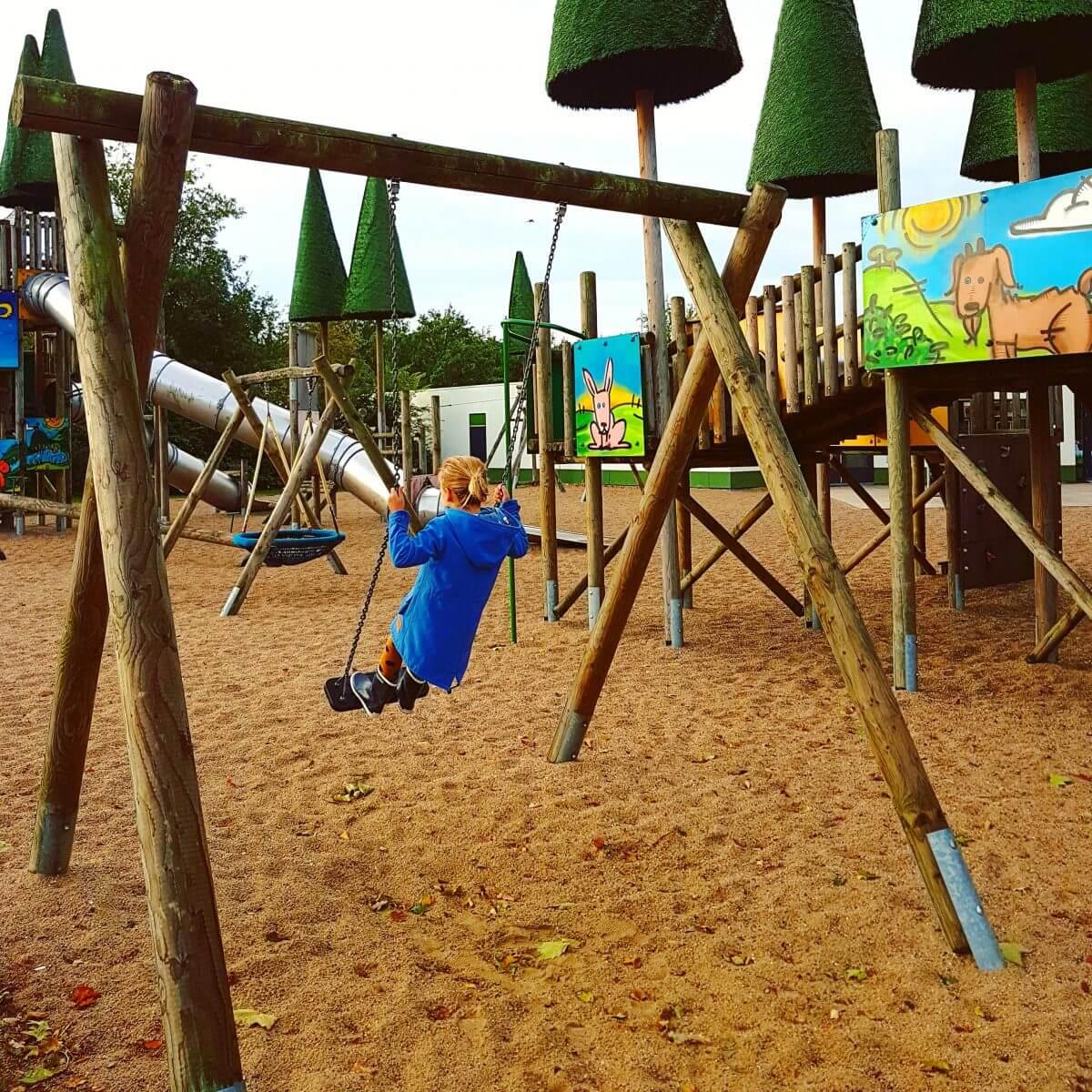 Speeltuinen in Vakantiepark Dierenbos