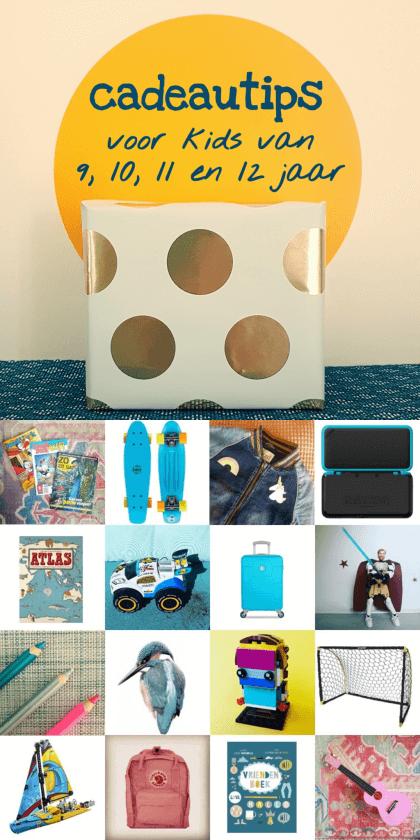 Verjaardagscadeau voor kids van 9, 10, 11 en 12 jaar: leuke cadeau tips voor bovenbouw kinderen #leukmetkids
