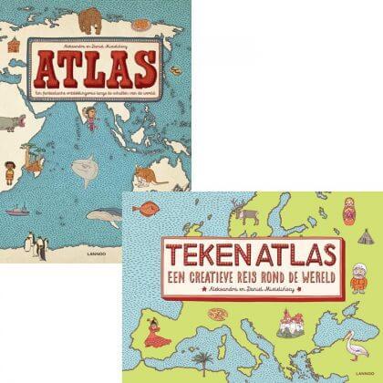 Verjaardagscadeau voor kids van 9, 10, 11 en 12 jaar: leuke cadeau tips voor bovenbouw kinderen #leukmetkids #atlas