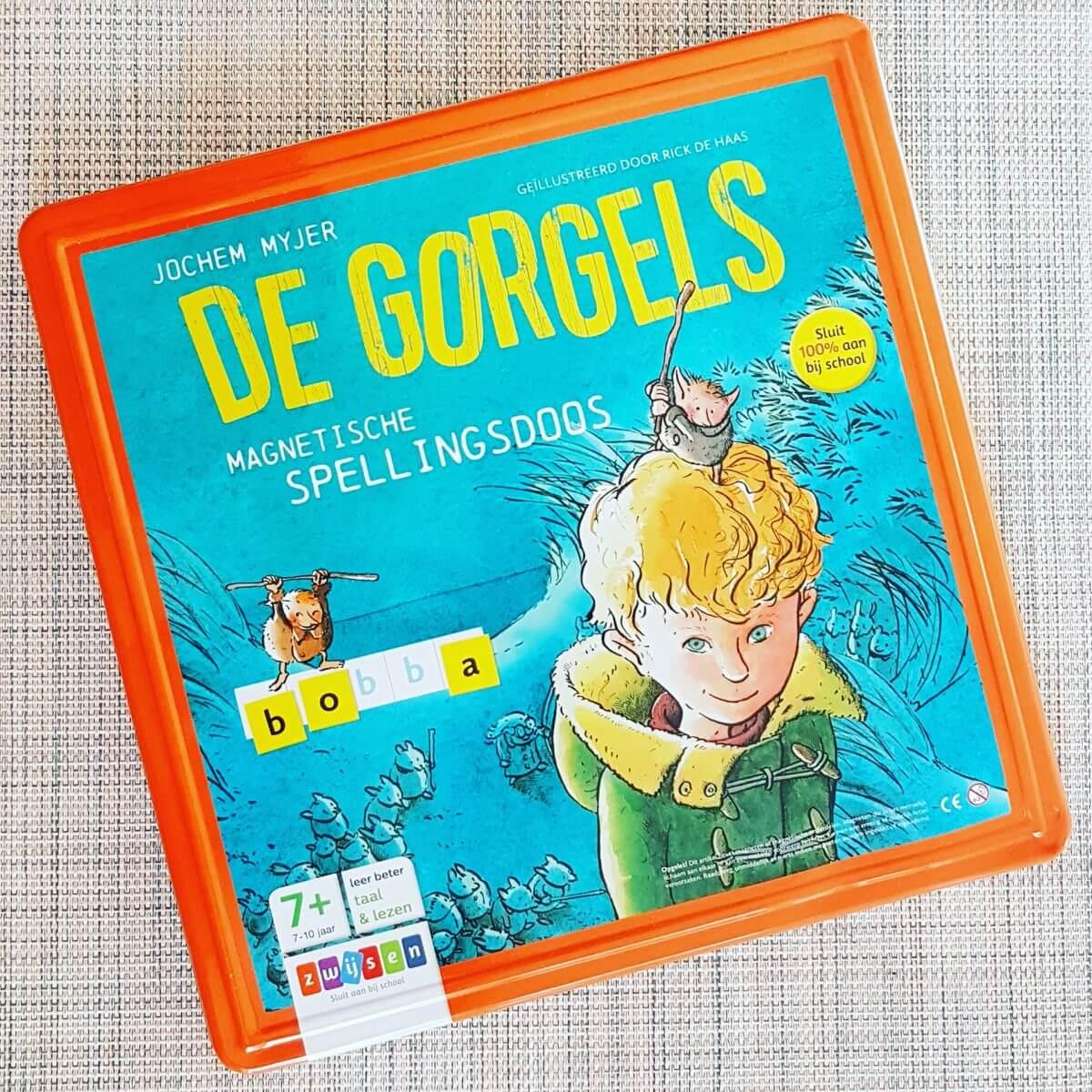 Verjaardagscadeau voor kids van 6, 7 of 8 jaar: de magnetische spellingsdoos van de Gorgels #leukmetkids