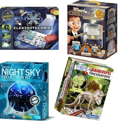 cadeau voor nieuwsgierige kinderen: experimenteerdozen