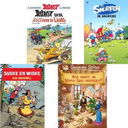 Verjaardagscadeau voor kids van 9, 10, 11 en 12 jaar: leuke cadeau tips voor bovenbouw kinderen #leukmetkids #strips