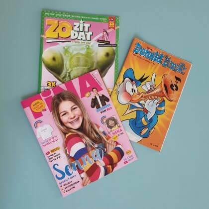 Verjaardagscadeau voor kids van 9, 10, 11 en 12 jaar: tijdschrift cadeau voor bovenbouw kinderen
