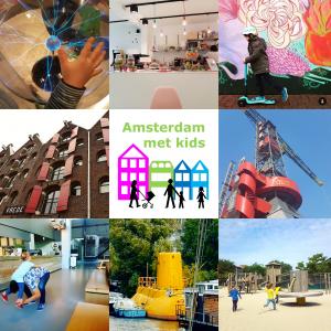 Nieuwe website: Amsterdam met kids, met alles wat je wil weten overzichtelijk op een rijtje