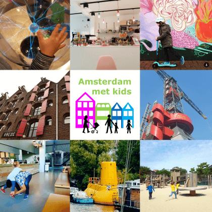 Nieuwe website: Amsterdam met kids, musea, speeltuinen, parken, zwemplekken, actieve uitjes, kinderboerderijen, winkels, restaurants en nog veel meer in Amsterdam voor gezinnen met kids
