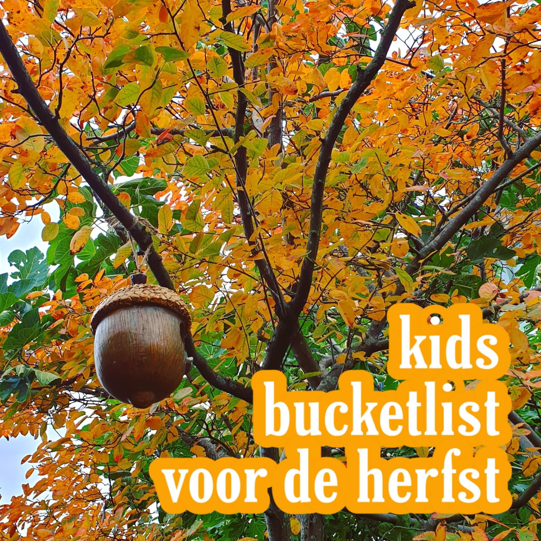 Onze kids bucketlist voor deze herfst: leuke herfstvakantie activiteiten
