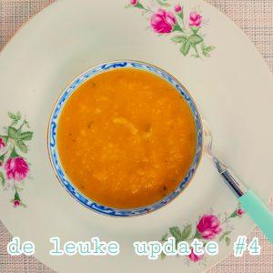 De Leuke Update #4 | nieuwtjes, lekker eten in de herfst en uitagenda