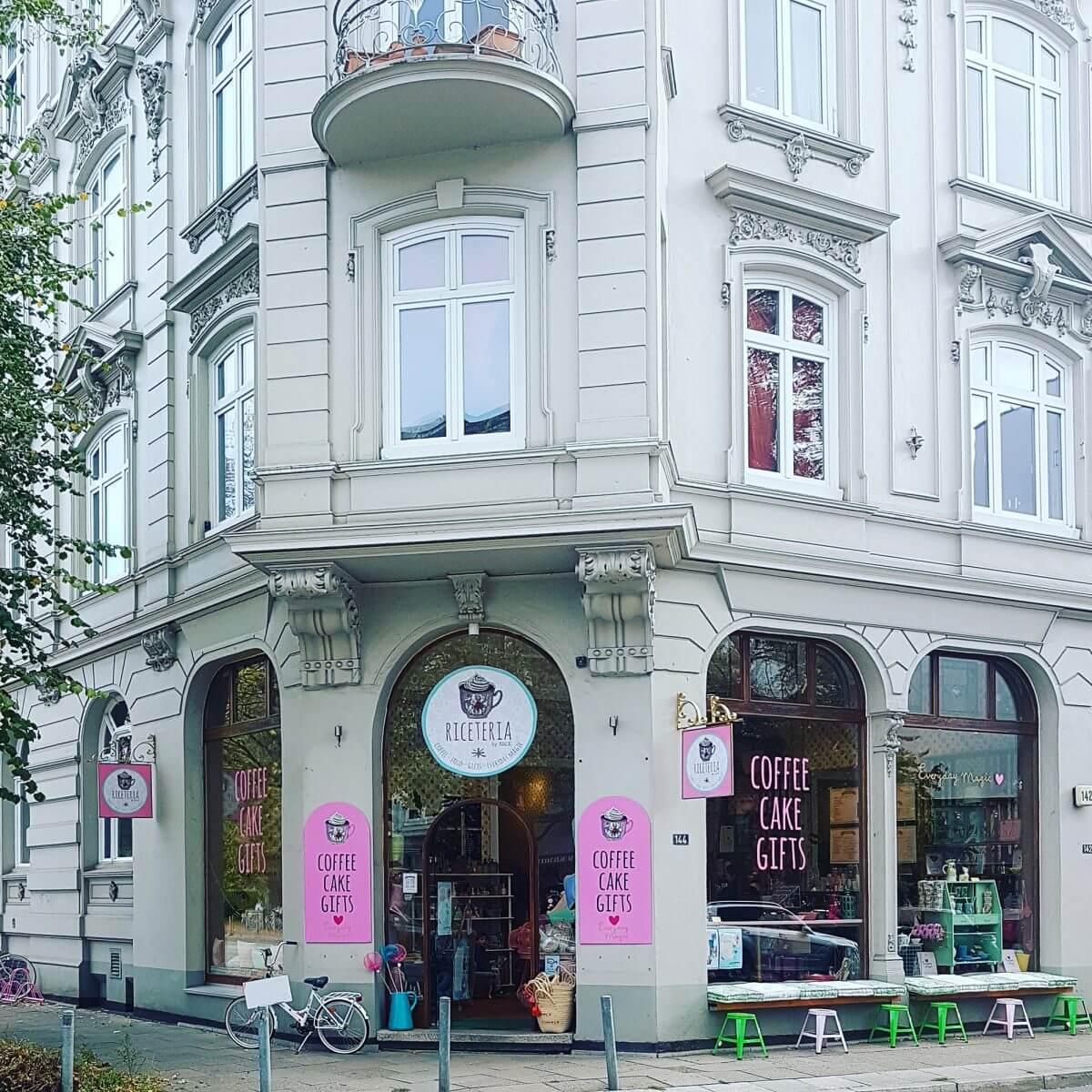 Hamburg met kids Eppendorf Riceteria