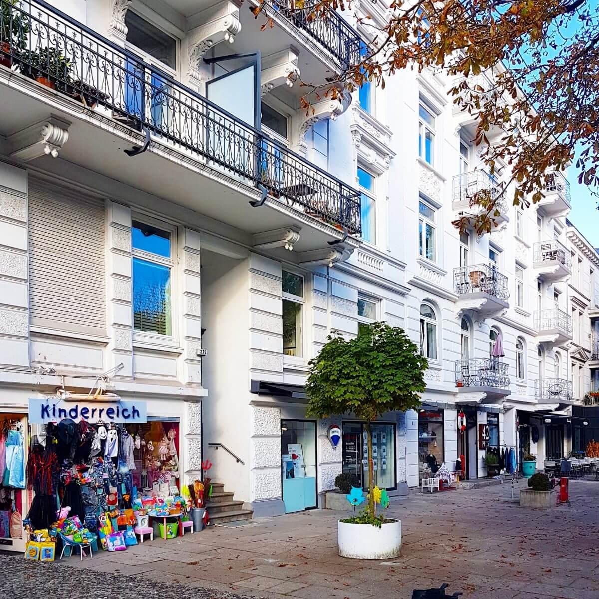 Hamburg met kids Eppendorf winkels