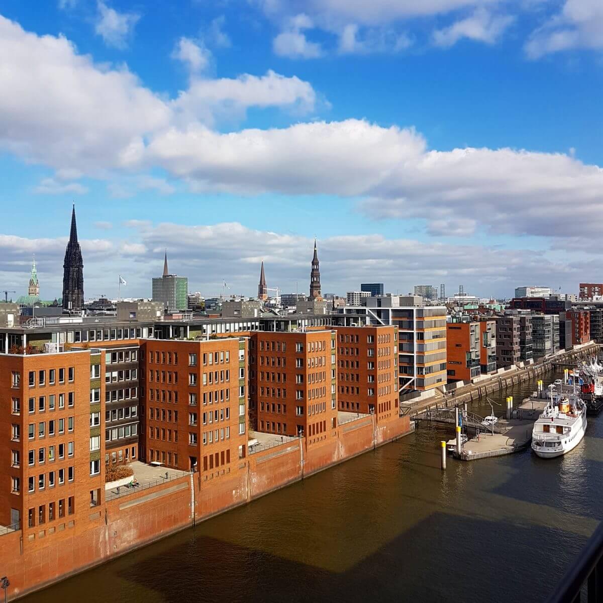 Hamburg met kids Hafencity