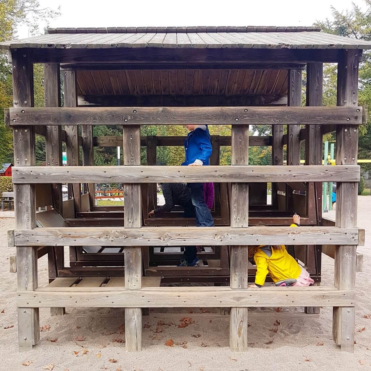 Leuk park met speeltuin voor kids in Hamburg: Planten un Blomen