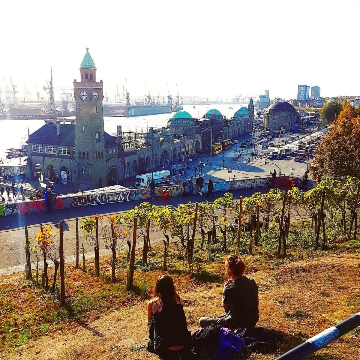 Hamburg met kids Sankt Pauli en Landungsbrücke