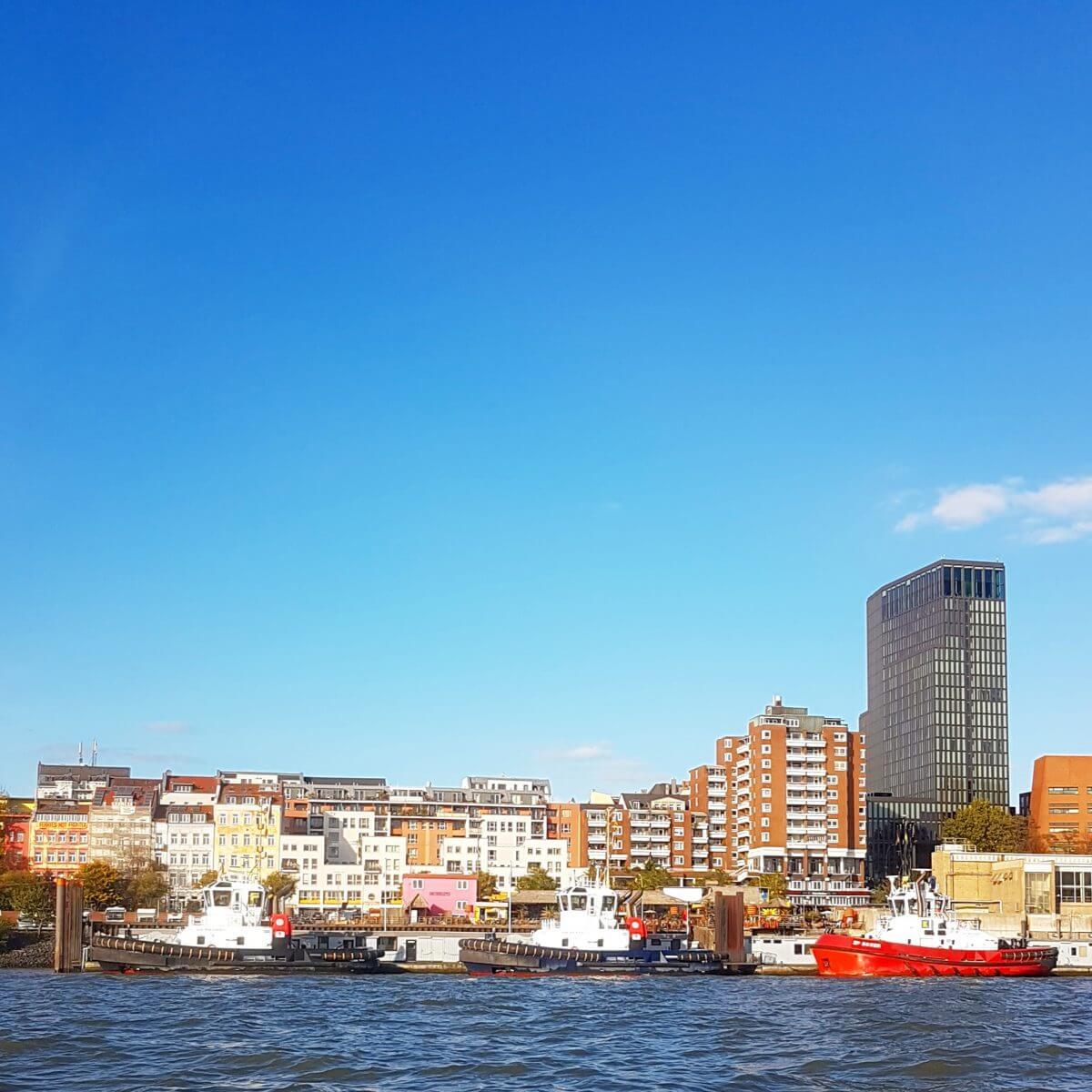 Hamburg met kids Sankt Pauli