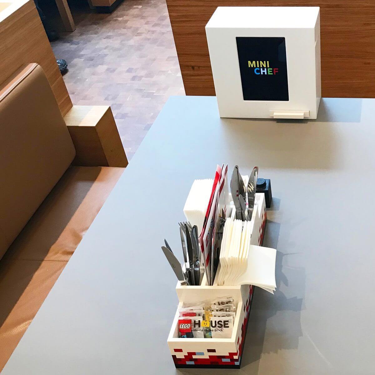 Het restaurant van LEGO House vlakbij Legoland Billund
