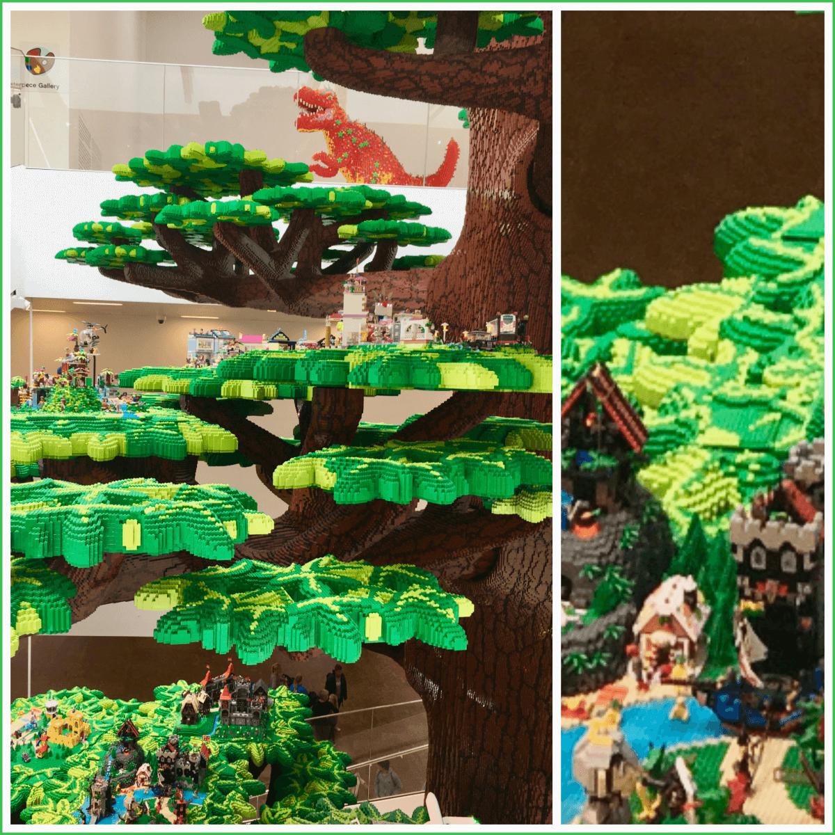 Tree of Creativity in LEGO House vlakbij Legoland Billund