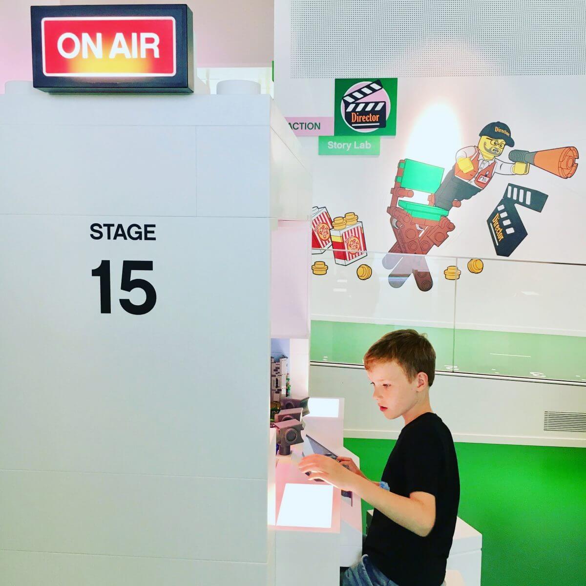 Stop-motion filmpjes maken in LEGO House vlakbij Legoland Billund