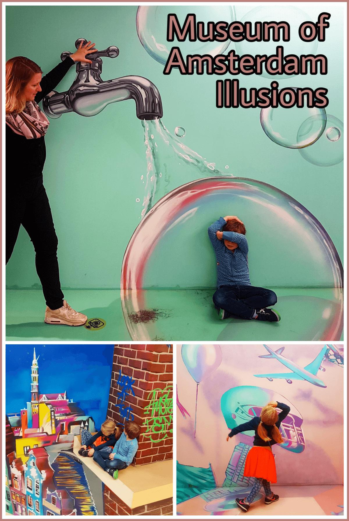 Nieuw uitje voor kids: Museum of Amsterdam Illusions