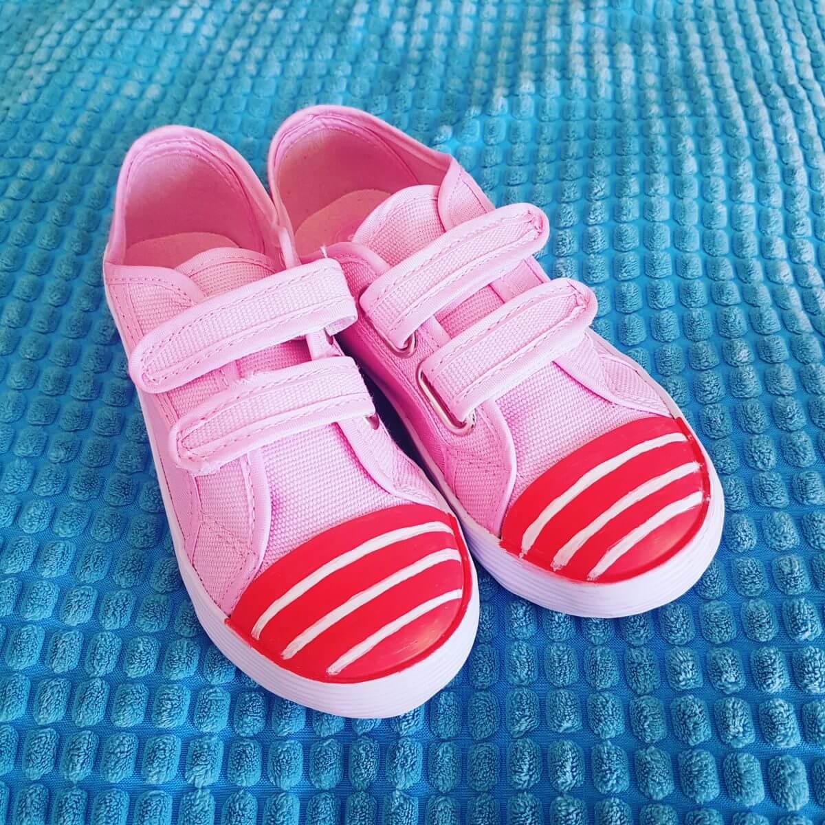 Pintor markers: met stiften schoenen versieren