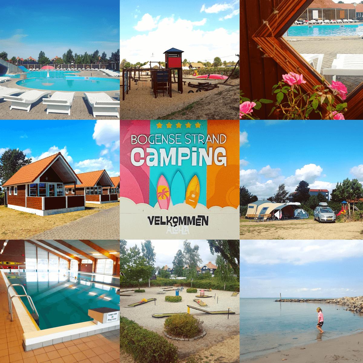 Campingtip: Bogense Strand Camping, op het eiland Funen in Denemarken #leukmetkids #camping #kamperen #binnenzwembad #buitenzwembad #midgetgolf