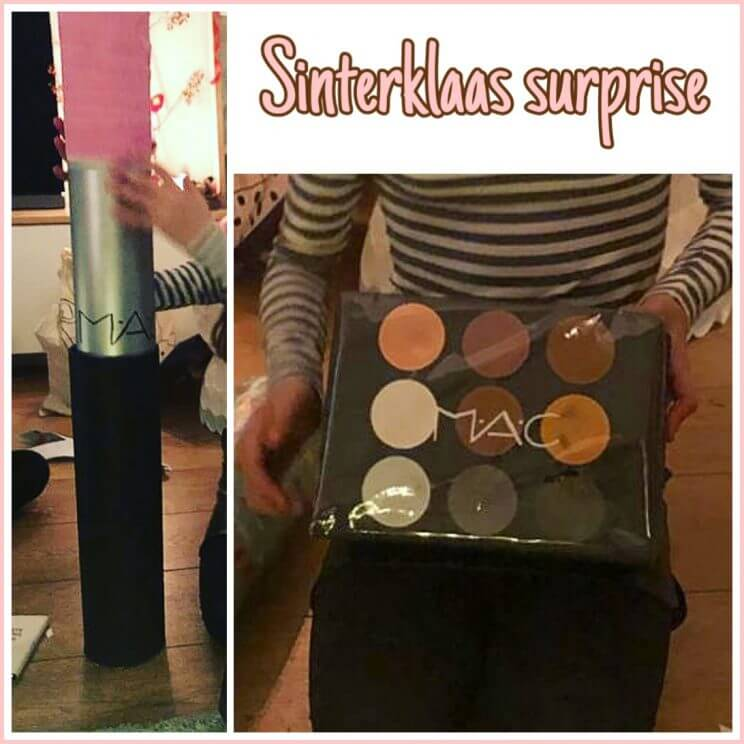 Sinterklaas surprises knutselen: make-up