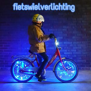 Fietswielverlichting voor kinderfietsen: Bike light