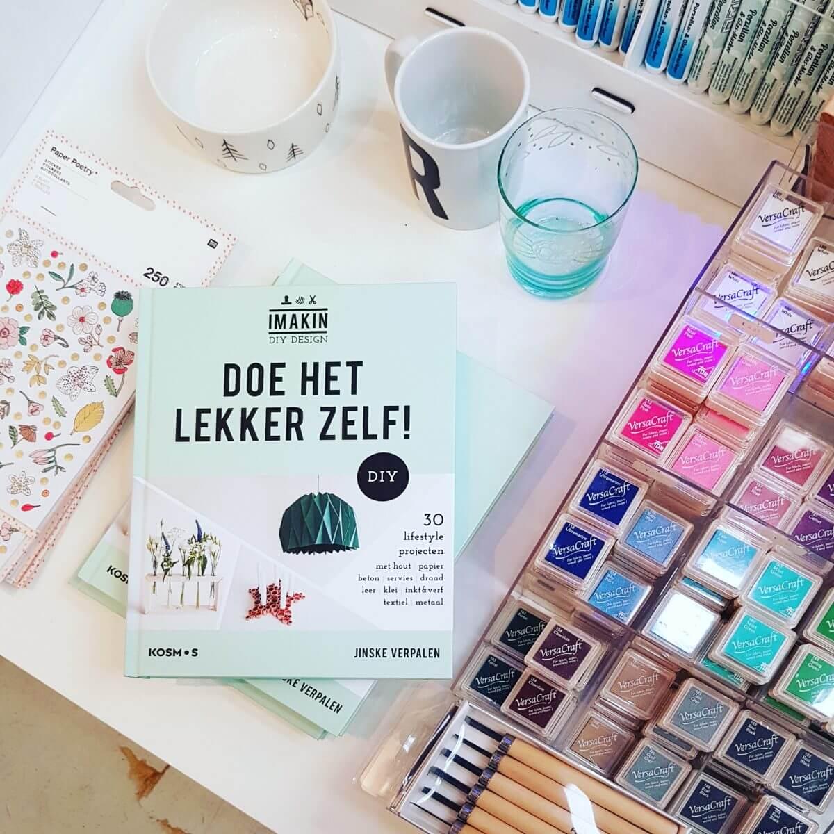 Webshop event Flavourites Live 2018: DIY boek van Imakin