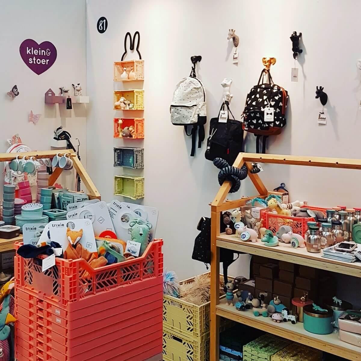 Webshop event Flavourites Live 2018: kinderkamer spulletjes bij Klein en Stoer