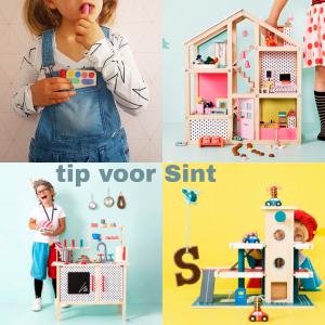 Tip voor Sinterklaas: houten speelgoed bij de Hema, met kortingscode
