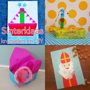 Sinterklaas knutselen: 101 leuke ideeën